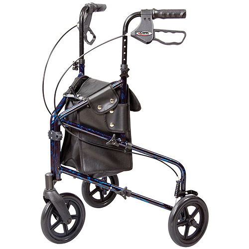 Carex Trio Roller Walker, 1ct