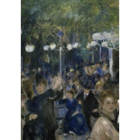 Ball at the Moulin de la Galette (Detail)  1876  Pierre-Auguste Renoir (1841-1919French) Musee dOrsay Paris Canvas Art - Pierre-Auguste Renoir (18 x (Auguste Renoir Moulin De La Galette 1876)