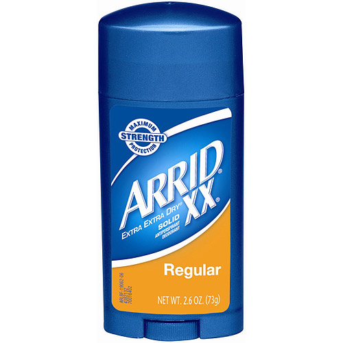 Arrid XX Dry Maximum Strength Solid Anti-Perspirant/Deodorant, 2.6 oz