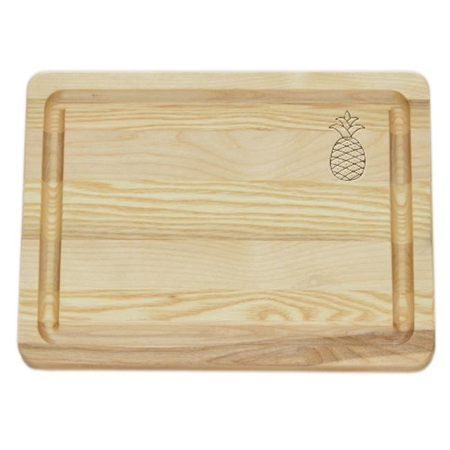 Carved Solutions Master Collection Wooden Cutting Board Small -Pineapple
