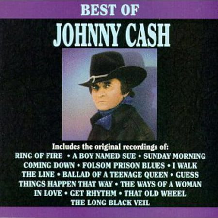 Johnny Cash   Best Of Johnny Cash  Cd