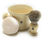 Best GBS Badger Shaving Brushes - GBS 3 Piece set -Comes in Gift Box Review