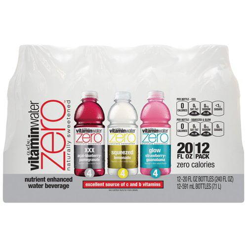 Coca Cola Vitaminwater Zero Water Beverage, 12 ea