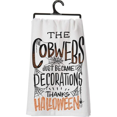 Primitive Halloween Decorations (The Cobwebs Just Became Decorations Thanks Halloween Towel Primitives by)
