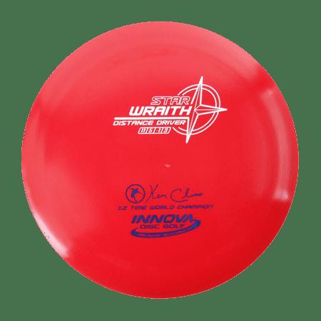 Innova Star Wraith Disc (Innova Star Wraith 160-164g Distance Driver Golf Disc [Colors may vary] -)