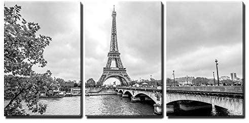 Card Topper Diecut Embellishments x 3 PC Eiffel Tower Paris Panel