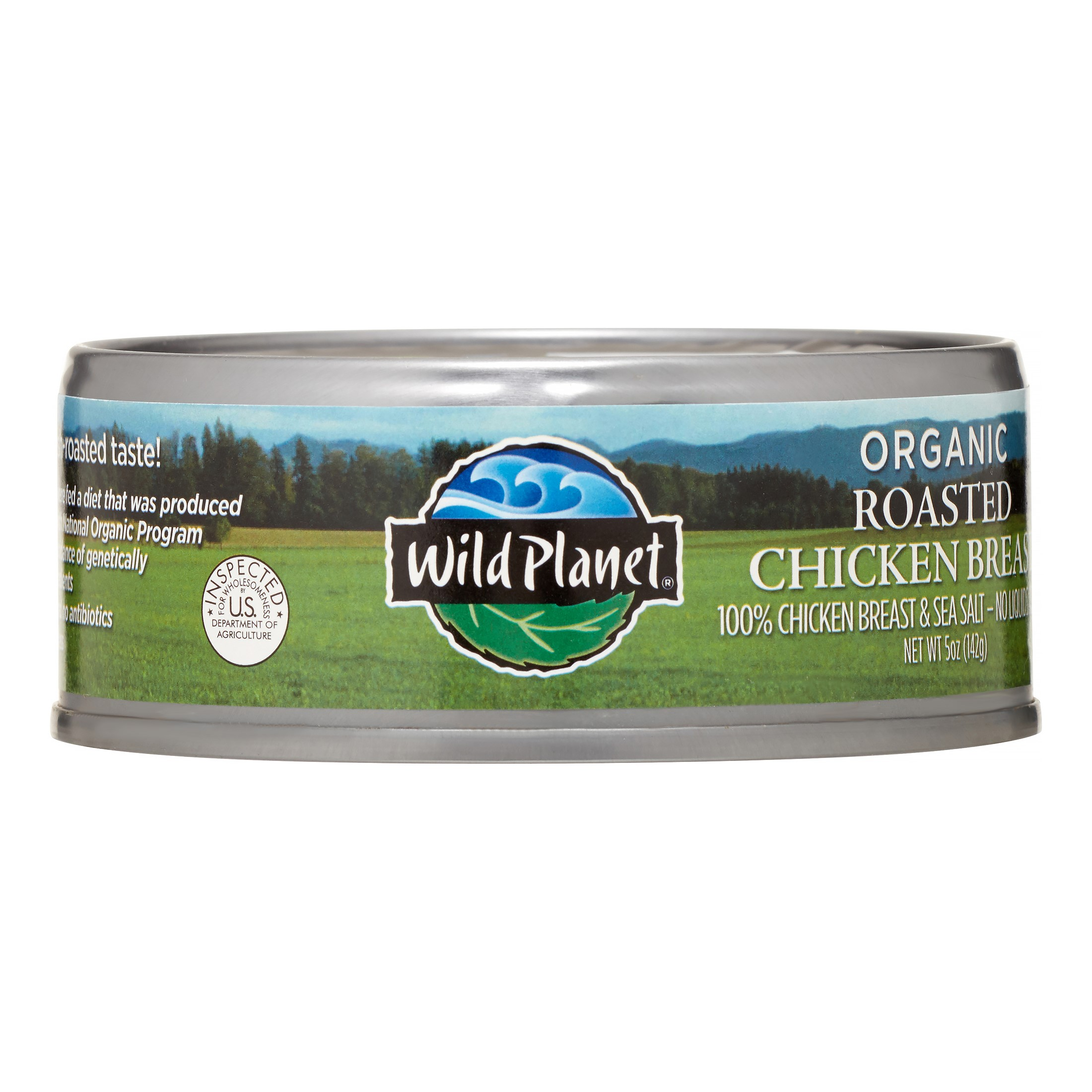 Wild Planet Organic Roasted Chicken Breast, 5 oz, (Pack of 12)