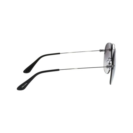 bd68e8e781 Prada PR58OS-5AV6T2-55 Silver Semi-Rimless Sunglasses - image 1 of 3 ...