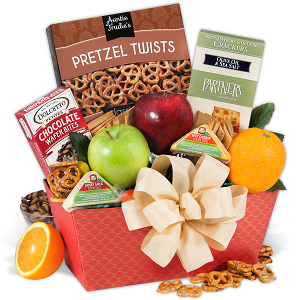 Treats from the Orchard Fruit Gift Basket