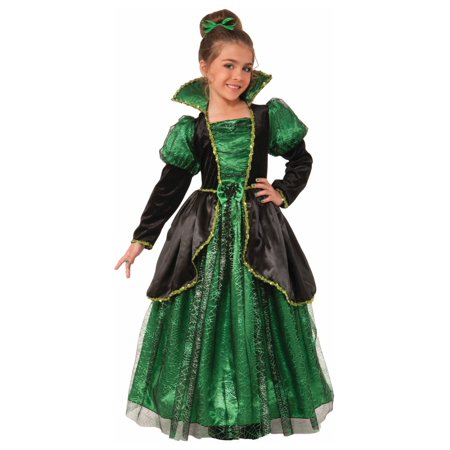 Emerald Style Witch Princess big Girls - Big Girl Costumes