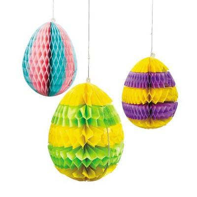IN-37/1400 Easter Egg Silhouette Hanging Decorations 1 Set(s)