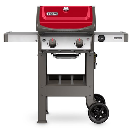 Weber Spirit II E-210 Propane Gas Grill, Red (Weber Grill Propane To Natural Gas Conversion Kit)
