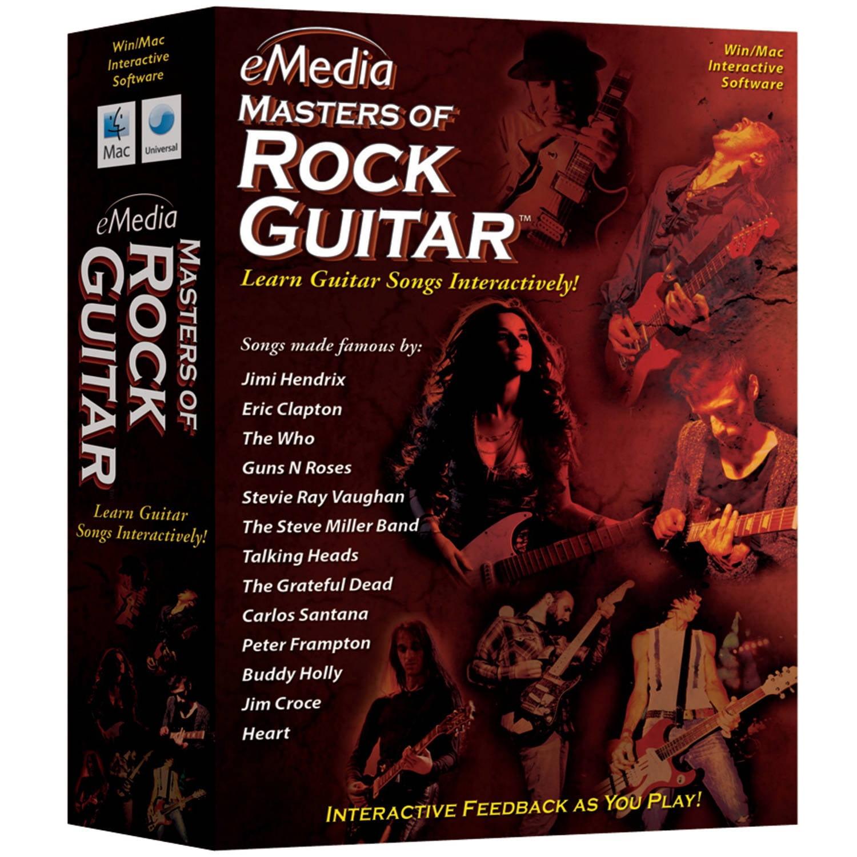 eMedia Music EG09141 eMedia Masters of Rock Guitar by eMedia Music
