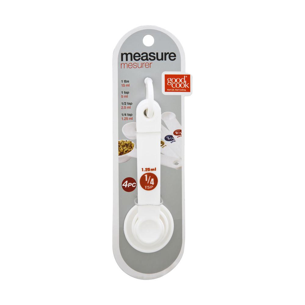 Bradshaw Measuring Spoons, 4-Piece by Bradshaw International, Inc.