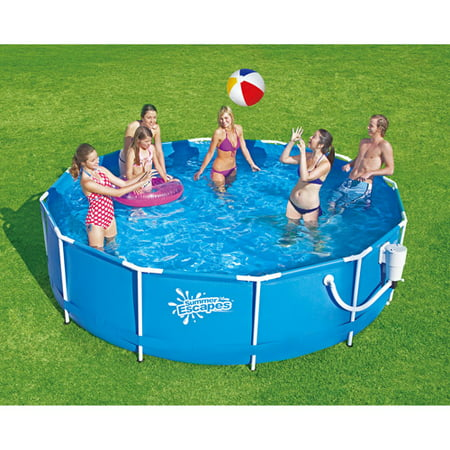 summer escapes 12 x 30 metal frame swimming pool
