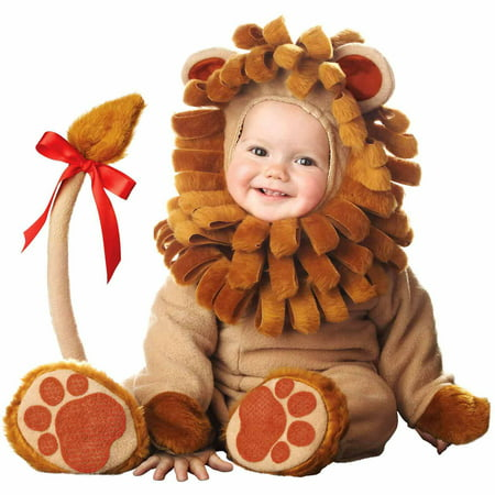 LIL LION LIL CHARACTERS 6-12MO (Lion Costune)