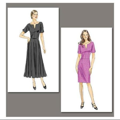 Vogue Pattern Misses' Dress, B5 (8, 10, 12, 14, 16)