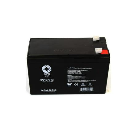 SPS Brand 12V 7 Ah Replacement Battery  for Tripp Lite OMNISMART1400PNP UPS (1 (Microtek Ups Battery 12v 7-2 Ah Price)