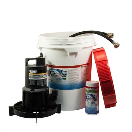 rectorseal calci-free tankless water heater flush kit - walmart