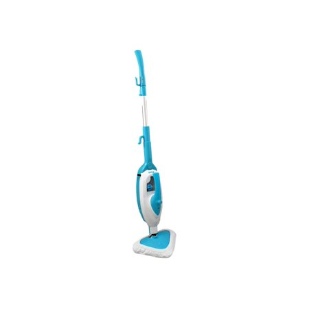 Pyle-Home Multi-Purpose and Multi-Surface Steam Floor Mop and Detachable Handheld Steamer Key Features and Benefits: Hybrid steamer: 2 steamers in 1Handheld steamer detaches from mop to clean your entire homeNaturally cleans with hot steam vaporIncludes extension hose for handheld steamerDeodorizes and sanitizes while you cleanWorks on all sealed hard floor surfacesQuickly sanitizes and disinfects clothing, furniture, fabric and moreProduces superheated steamSimple operation single-touch steam activationTriangular mop design for easy cleaning in tight cornersIncludes heavy-duty microfiber cleaning padsTested to kill 99.9% of germs and bacteriaUses tap water - no chemicals or cleaning solutions requiredRemovable and refillable water tankBuilt-in heating elementPerfect for your home, car or boatWhat;s Included: PYLE PSTMP20 2 in 1Microfiber pad