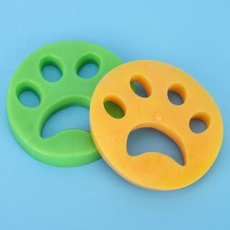 Nosii 2PCS Pet Accessories Sticky Hair Remover Dog Cat Fur Removal for Washing Laundry Dryer(2PCS ) - image 3 of 11