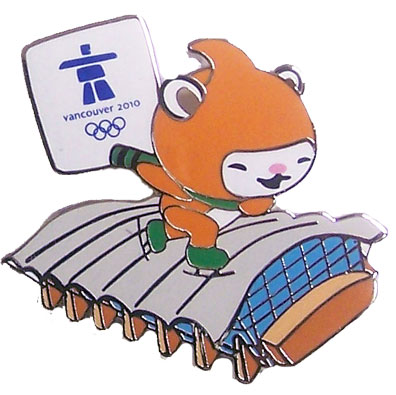 Vancouver 2010 Olympics Miga at Richmond Oval Pin by