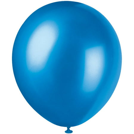 Pearlized Latex Balloons, 12 in, Sapphire Blue, 4-Pack (32 Balloons)](Pearlized Balloons)