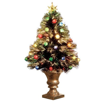 Celebrations Szox7 100L 36 Fiber Optic Christmas Tree With  - 36 Fiber Optic Christmas Tree