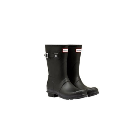 accbcb04722 Hunter Women's Size 8 Original Short Rain Boots, Matte Black