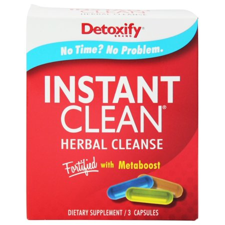 Detoxify Detoxify Instant Clean Herbal Cleanse, 3