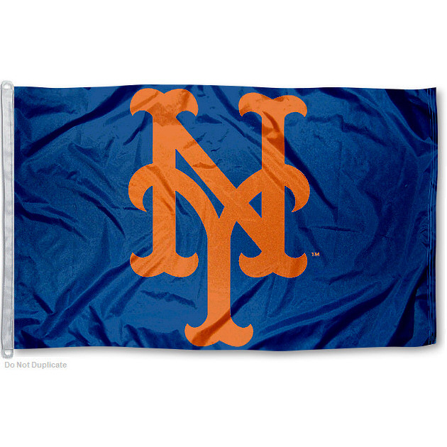 New York Mets 3' x 5' MLB Flag