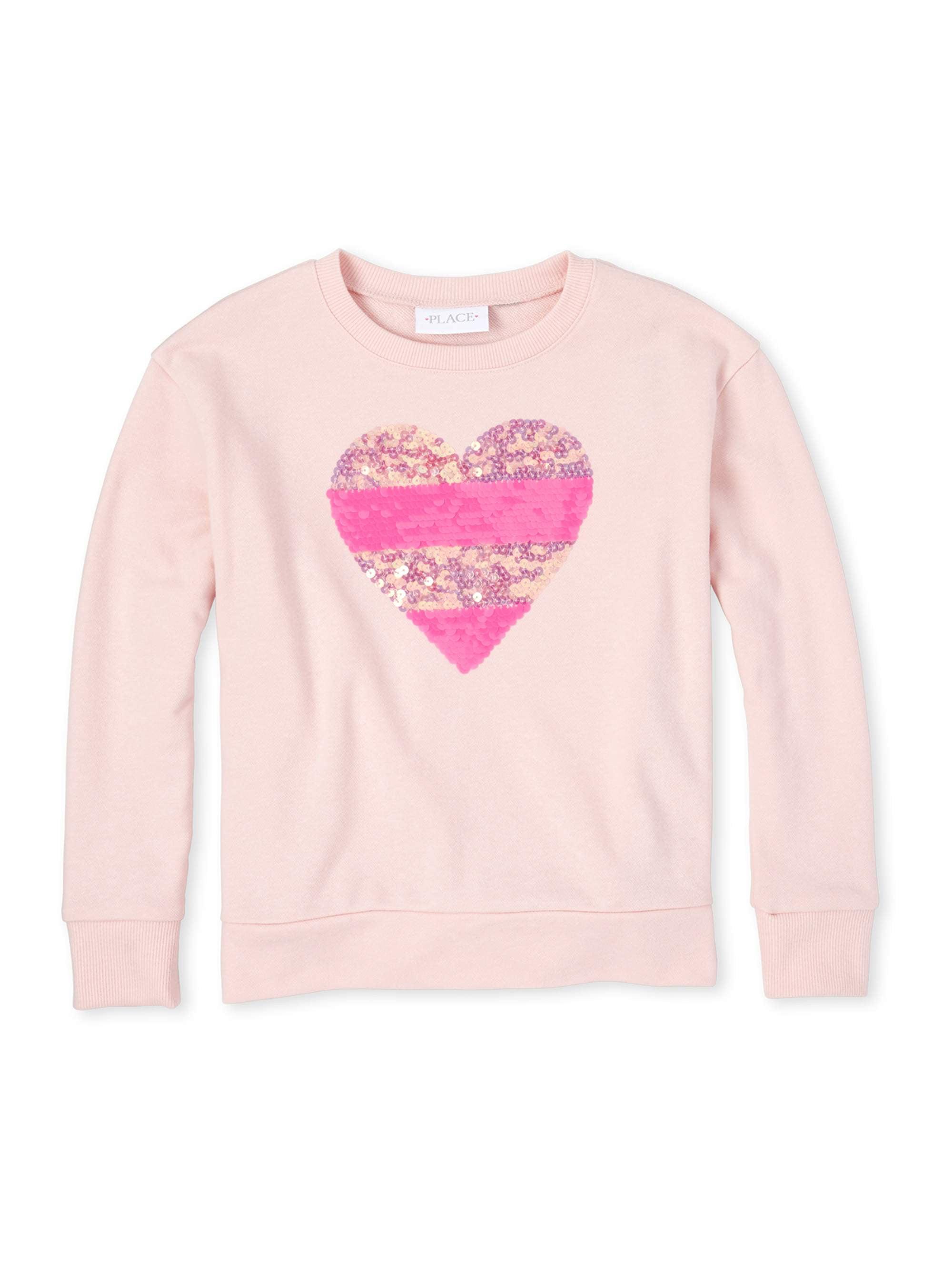 The Childrens Place Girls Big Valentinesshirt
