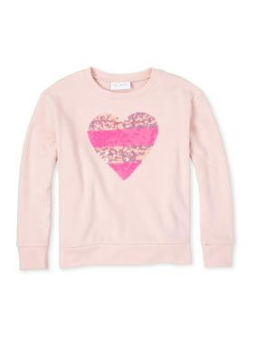The Children's Place Girls Heart Sweater Knit Shirt, Sizes 4-14