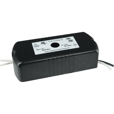 Auto Reset Electronic Transformer (Cal Lighting TR-150A Electronic Transformer With Auto Reset,)