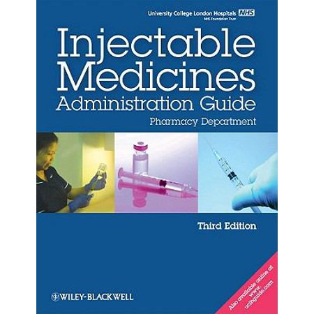 Ucl Hospitals Injectable Medicines Administration Guide  Spiral Bound