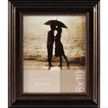 DISTRESSED BRONZE W BEAD TRIM Frame 8x10 by Pinnacle (Pinnacle Frames)