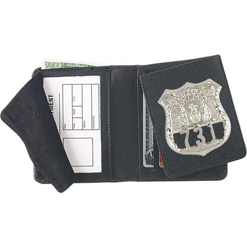 Strong Leather Company 79300-0152 Strong Leather Company - Flip-Out Badge Wallet - 79300-0152 - Strong Leather Company