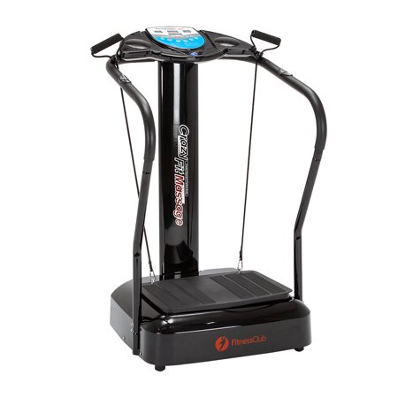 2500w crazy fit massage machine full body vibration platform exercise fitness machine with yoga. Black Bedroom Furniture Sets. Home Design Ideas