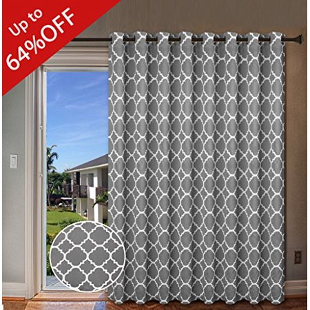 H Versailtex Energy Efficient Printed Curtains Extra Long