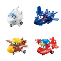 Super Wings Transform-a-Bots (Flip / Todd / Astra / Agent Chase)