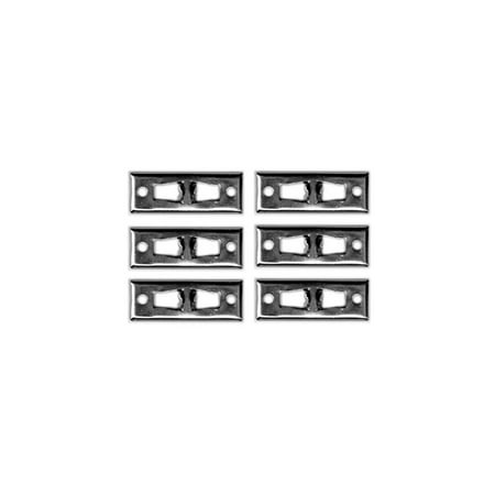 Eckler's Premier  Products 55198991 El Camino Body To Bumper Seal Clip Set Rear