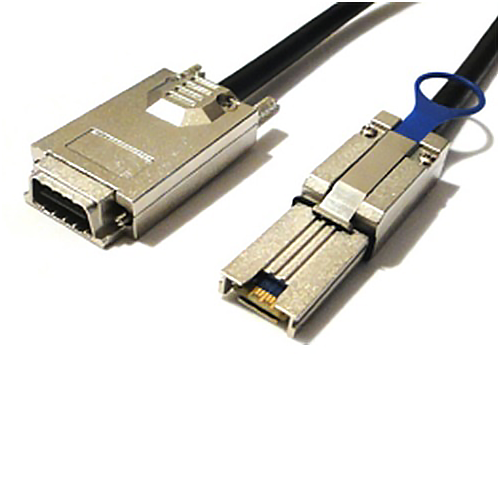 Mini SAS 26 to Infiniband Cable SFF-8088 to SFF-8470 -2 Meter