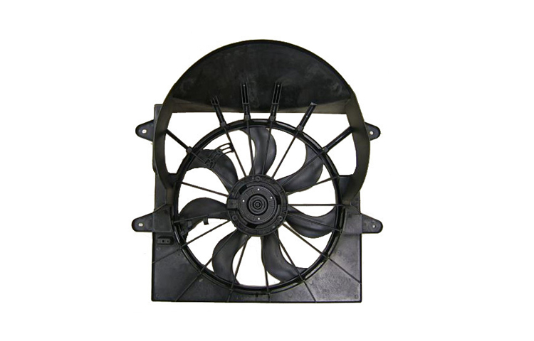 Replacement Cooling Fan For 09-10 Jeep Grand Cherokee by Multiple Manufacturers