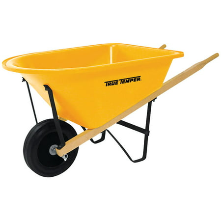 True Temper Poly Kid?s Wheelbarrow 25 lb. capacity