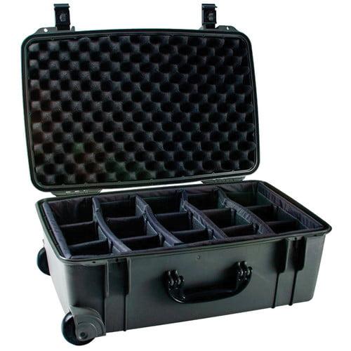 Seahorse SE-920 Hurricane SE Series Case with Customizable Padded Photo Divider Set (Gunmetal)