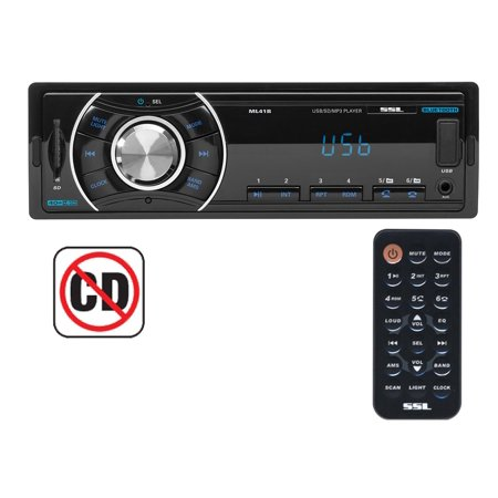 Soundstorm Ssl Bluetooth Wireless Single Din Digital Media Car Receiver   Ml41b