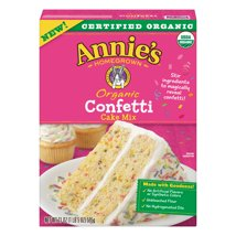 Baking Mixes: Annie's Confetti Cake Mix