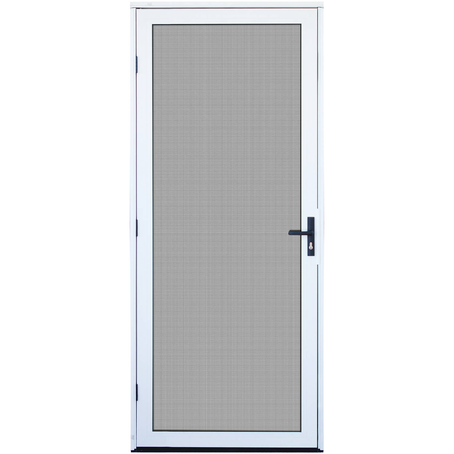 Titan Security Surface Mount Aluminum Meshtec Security Screen Door