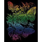 Royal Engraving Art Kit: Rainbow Foil - Butterflies