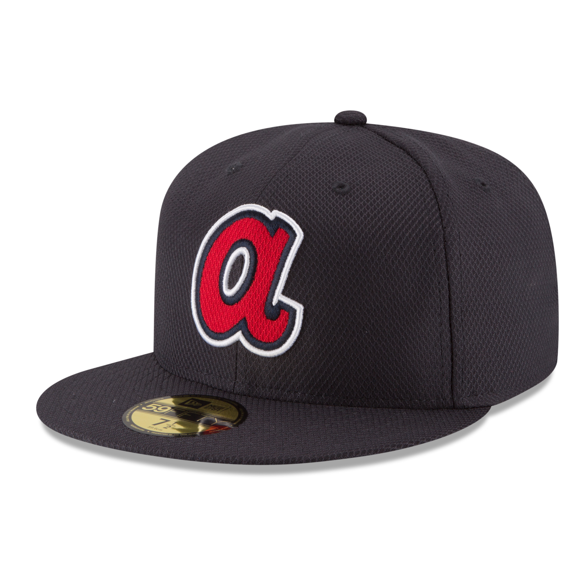 Atlanta Braves New Era Game Diamond Era 59FIFTY Fitted Hat - Navy